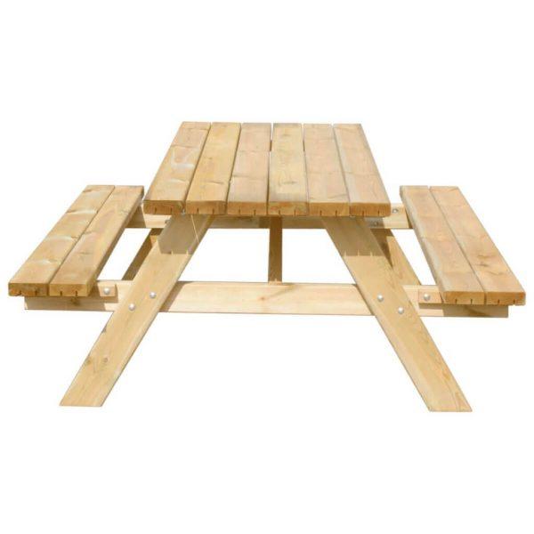 Picknicktafel 180 cm voorstaand